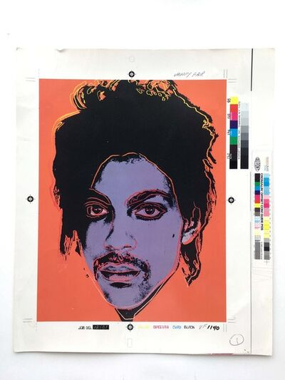 Andy Warhol, 'Portrait of Prince', 1984