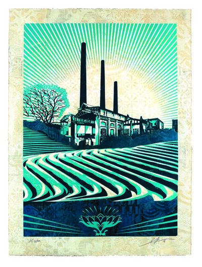 Shepard Fairey (OBEY), 'Urban Roots', 2016