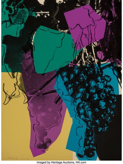 Andy Warhol, 'Grapes', 1979