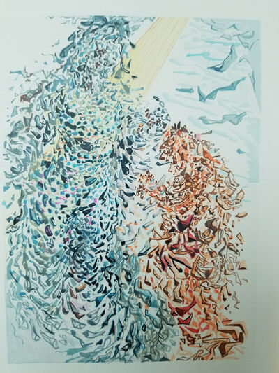 """Salvador Dalí, '""""The Divine Comedy"""" series Paradise: Canto 11 """"The Opposition""""', 1959"""