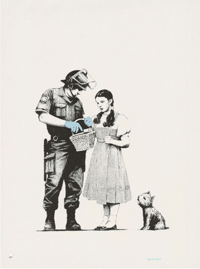 Banksy, 'Stop and Search Signed', 2007