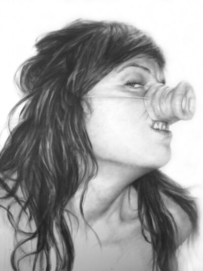 Melissa Cooke, 'Self Portrait as Pig #1', 2008