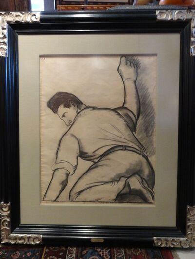 """Diego Rivera, '""""Clifford Wright midiendo""""', 1931"""
