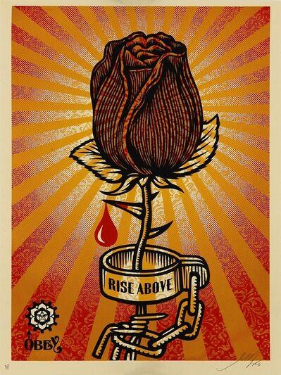Shepard Fairey, 'Rose Shackle', 2006