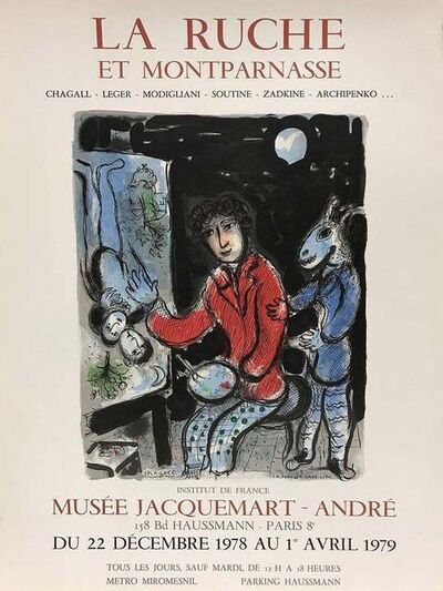 Marc Chagall, 'La Ruche et Montparnasse', 1979