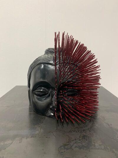 Prune Nourry, 'La Destruction n'est pas une fin en soi (tête avec encens)', 2020