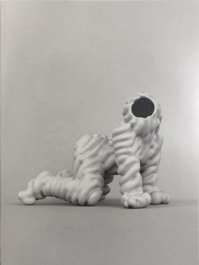 Kohei Nawa, 'trans-speaking-mao', 2014