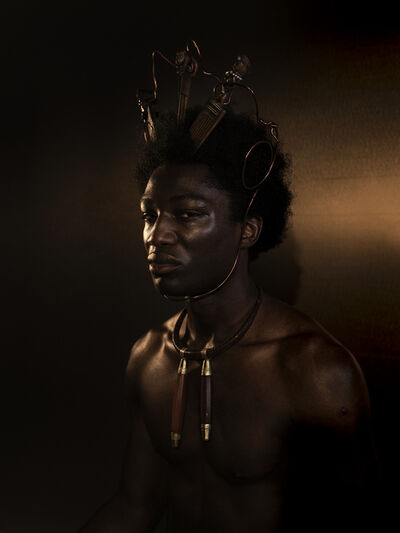DJENEBA ADUAYOM, 'BLACK GOLD - 1', 2018