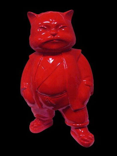 Hiro Ando, 'URBAN RED 100 cm'