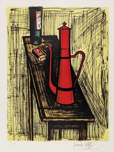 Bernard Buffet, 'La Cafetiere Rouge [Solier 411]', 1982