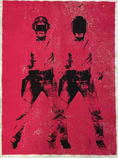 Hudson Luthringshausen, 'Pink Punks', 2017