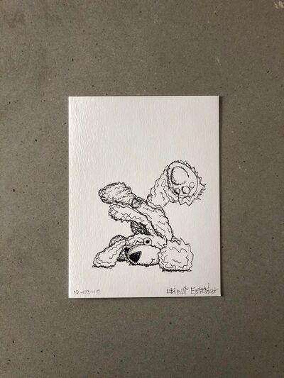"Brent Estabrook, '""Morning Sketch"" 12-3-2019', 2019"