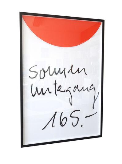Christian Holtmann, 'Sonnenuntergang', 2018