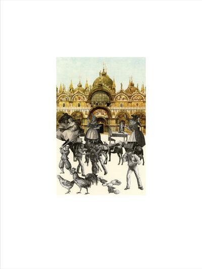 Peter Blake, 'Venice - 'An Altercation'', 2009