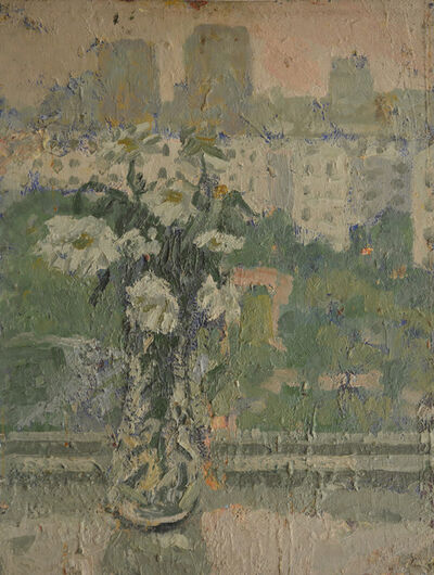 Aron Froimovich Bukh, 'Rain', 1990