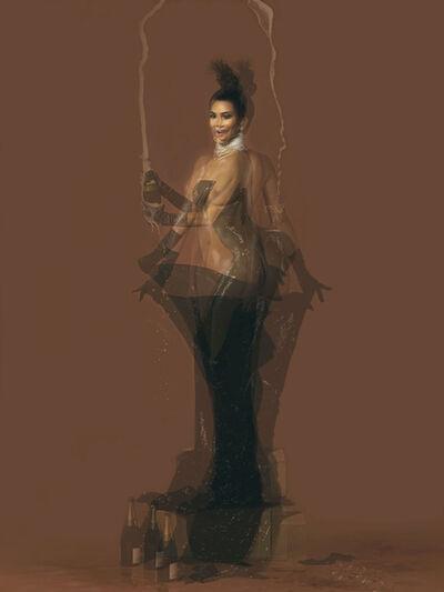 Doug Keyes, 'Kim Kardashian', 2014
