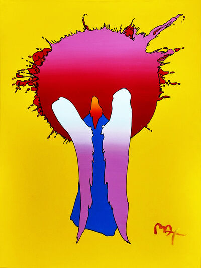 Peter Max, 'SUN ANGEL VER. I #4', 2003