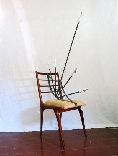 Daniel Murgel, 'Design da Turbação - Ofendículo Asa de Morcego para Cadeira do Giuseppe Scappinelli [Design of Disturbance - Barrier Batwing to Chair by Giuseppe Scappinelli]', 2015