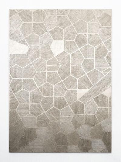 Naufus Ramírez-Figueroa, 'Scales,Variation #5, Moon gold', 2018
