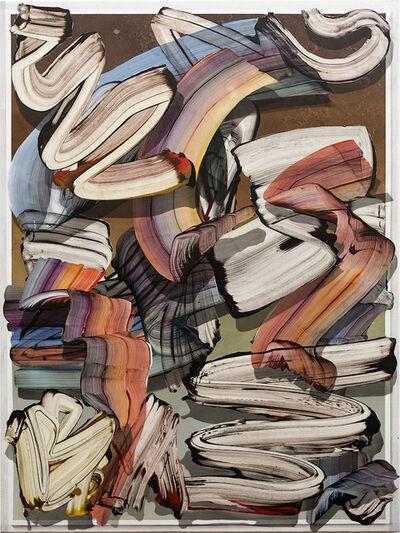 gregory hodge, 'A Curious Glance', 2016