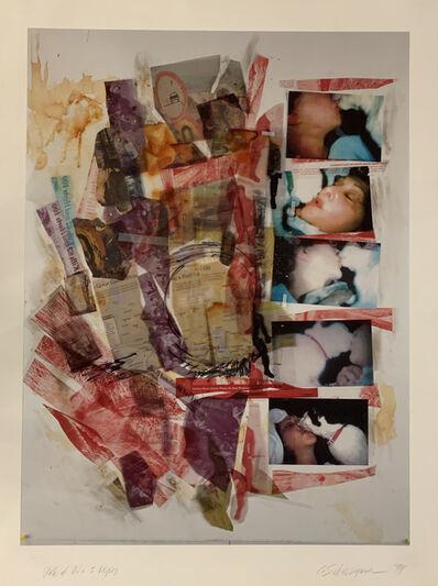 Carolee Schneemann, 'Paths of Oil + 5 Vespers', 1999