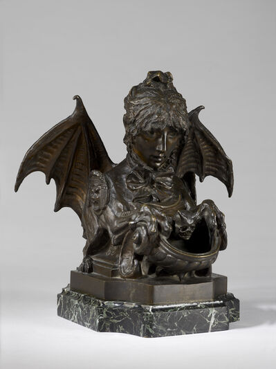 Sarah Bernhardt, 'Fantastic Inkwell (Self-Portrait as a Sphinx)', 1880
