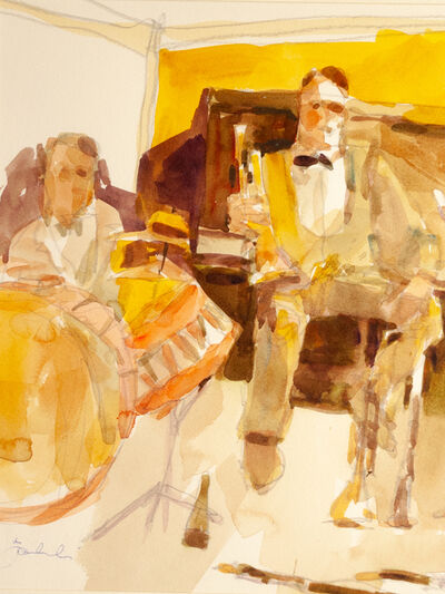 Zygmund Jankowski, 'In a Golden Den', ca. 1985
