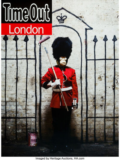 Banksy, 'Time Out London Magazine, poster', 2010