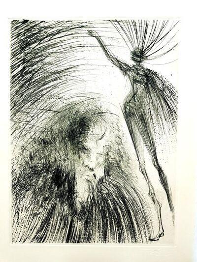 Salvador Dalí, 'Salvador Dali - Old Faust - Original Etching', 1969