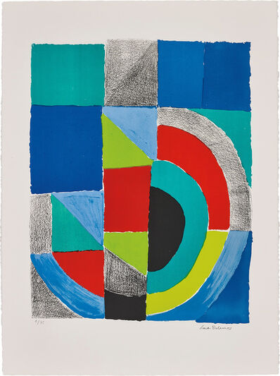 Sonia Delaunay, 'Rectangle rouge (Red Rectangle)', circa 1970
