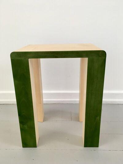 Kueng Caputo, 'Silo Stool - Green', 2017
