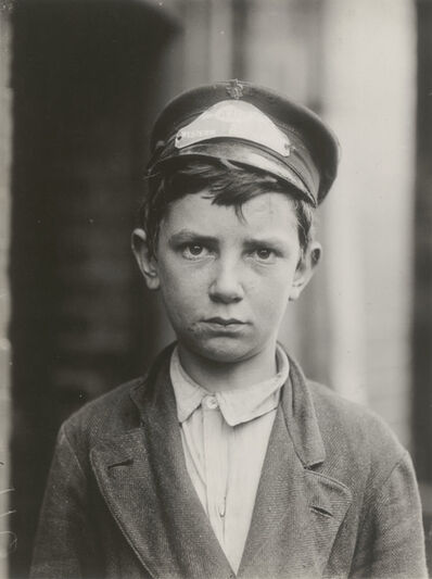 Lewis Wickes Hine, 'Messenger Boy (Portrait of Richard Pierce)', 1910