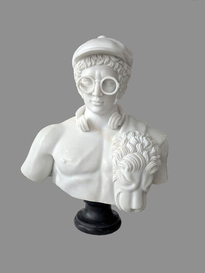Léo Caillard, 'Hipster in Stone', 2019