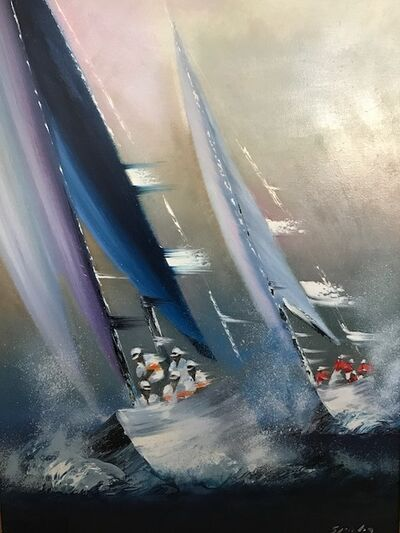 Victor Spahn, 'Les regates', 2005