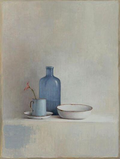 MARTA GÓMEZ DE LA SERNA, ' Still life in blue', 2019