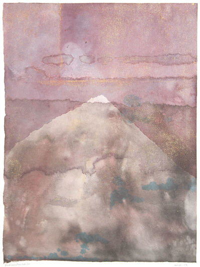Lee Hall, 'DUSK MOUNTAIN HORIZON', 1976