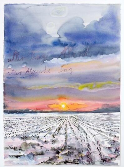 Anselm Kiefer, 'aller Tage Abend, aller Abende Tag (The Evening of All Days, the Day of All Evenings)', 2014