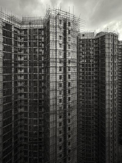 Peter Steinhauer, 'Bamboo Cage, Chai Wan, Hong Kong - 2009', 2009