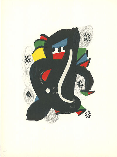 Joan Miró, 'La mélodie acide - 6', 1980