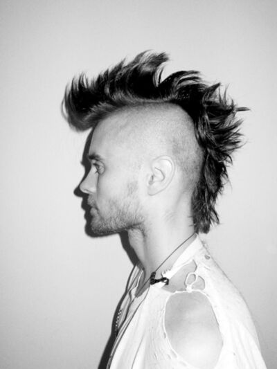 Terry Richardson, 'Jared with Mohawk', 2010