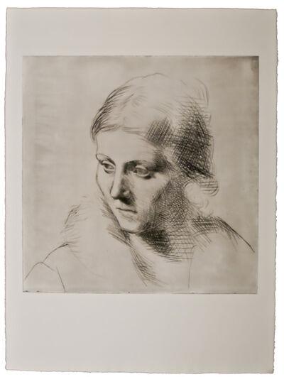 Pablo Picasso, 'Portrait d'Olga au Col de Fourrure', 1923
