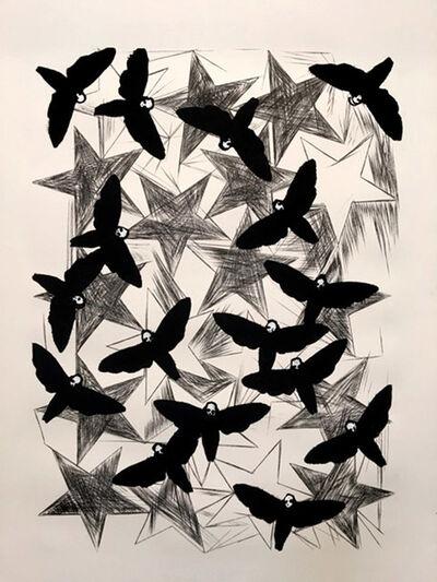 Charline von Heyl, 'Hawk Moths', 2016
