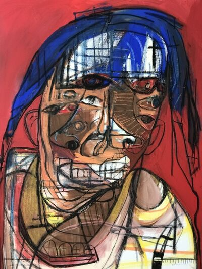 Genesis Tramaine, 'Leaning Saint', 2018
