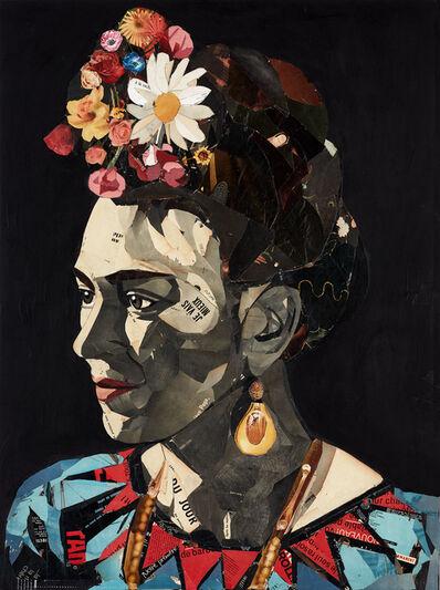 Pedro García Villegas, 'Frida Kahlo, la noche II', 2019