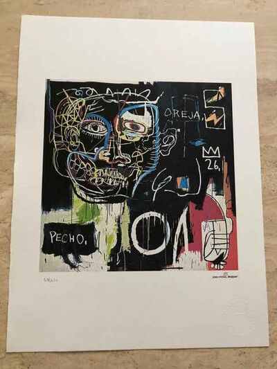 Jean-Michel Basquiat, 'Untitled (Pecho/Oreja)(Chest/Ear)', 1982-1983
