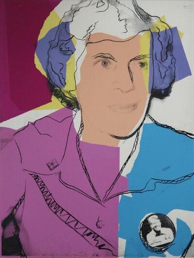 Andy Warhol, 'Lillian Carter', 1977