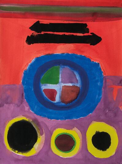 John Grillo, 'Abstract with Circles'