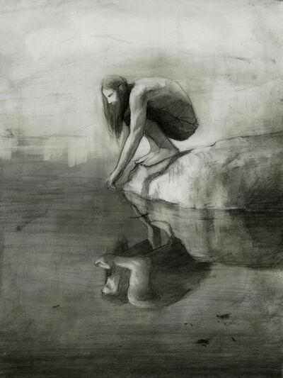 Shaun Berke, 'Study for Odinn {self at Mirror Lake};', 2016