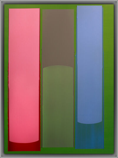 Jonathan Forrest, 'Three Lane Colour', 2021