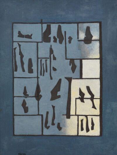 Enrique Tábara, 'Constructivo en Azul', 2018